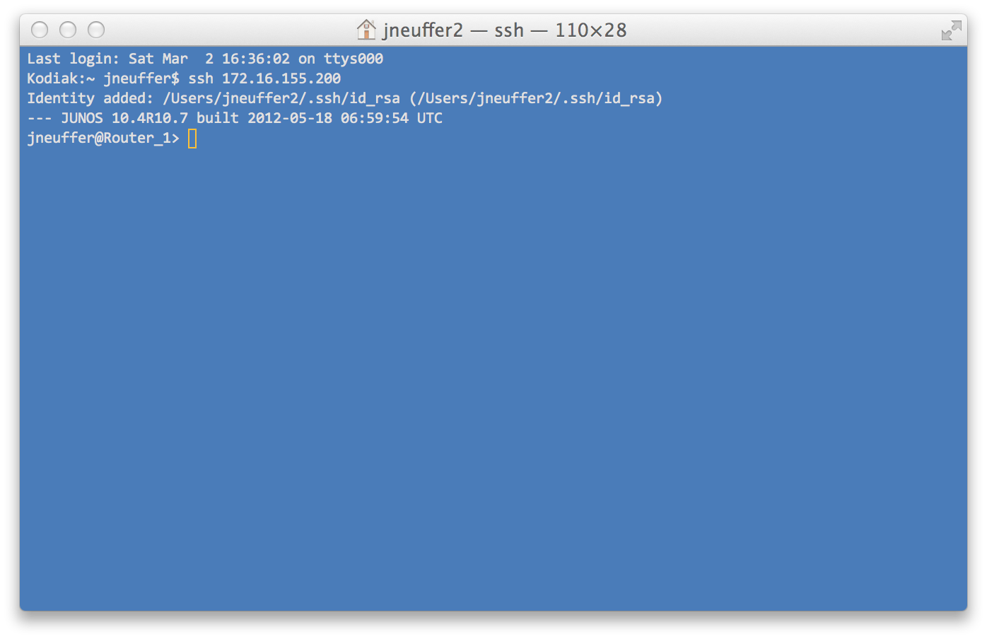 junos ssh-key authentication 5